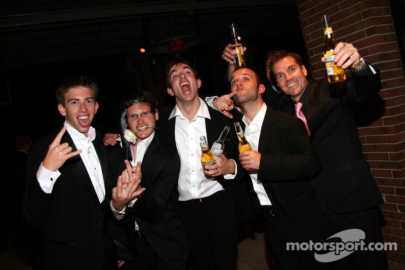 Tom Milner, Gunnar Jeannette, Oliver Gavin, Darren Turner et Johnny Mowlem