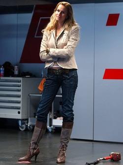 German actress Eve Scheer, girlfriend of Frank Stippler