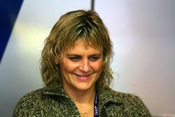 Tina Thörner, girlfriend of Mattias Ekström