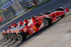Ferrari F1 Cars from previous years