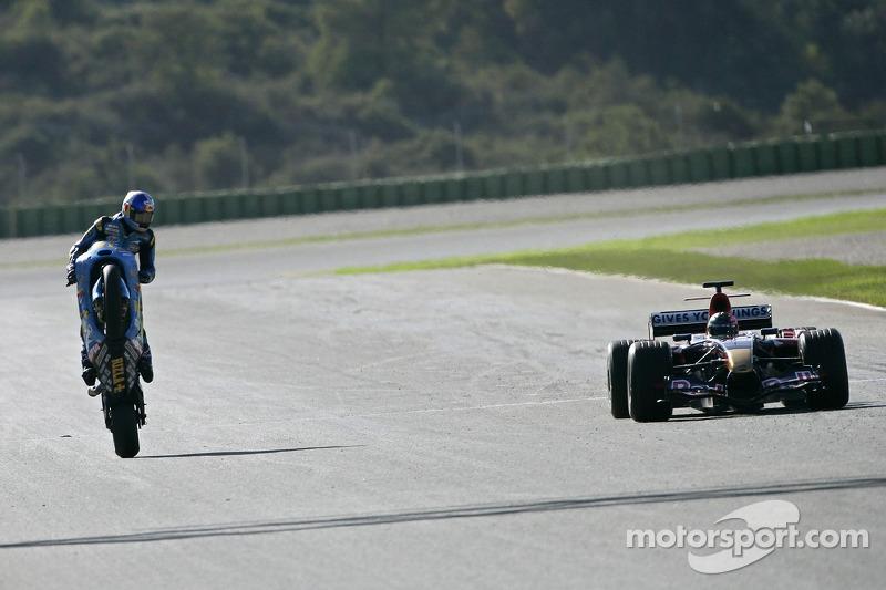 Suzuki MotoGP ve Toro Rosso F1 koltuk takası