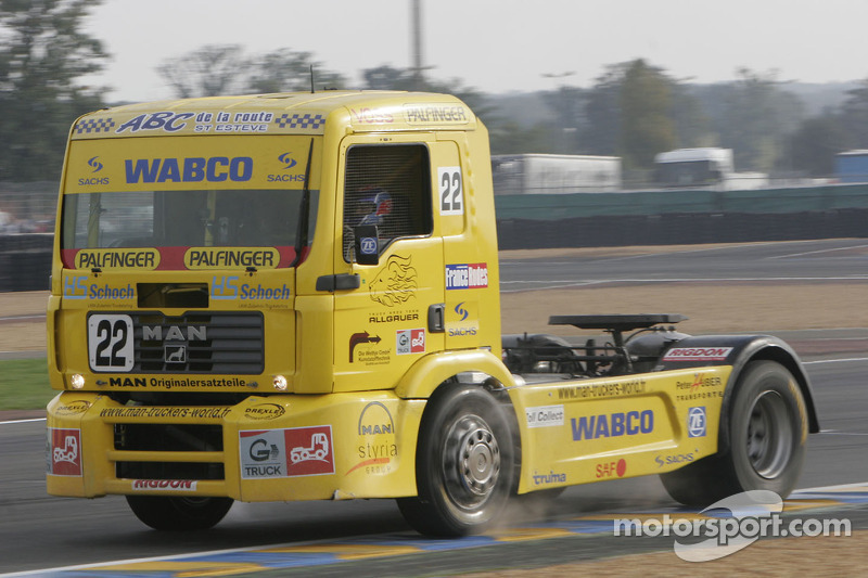Truck Race Team Allgaeuer Man n°22 : Jean-Philippe Belloc