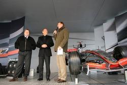 Norbert Haug et Ron Dennis