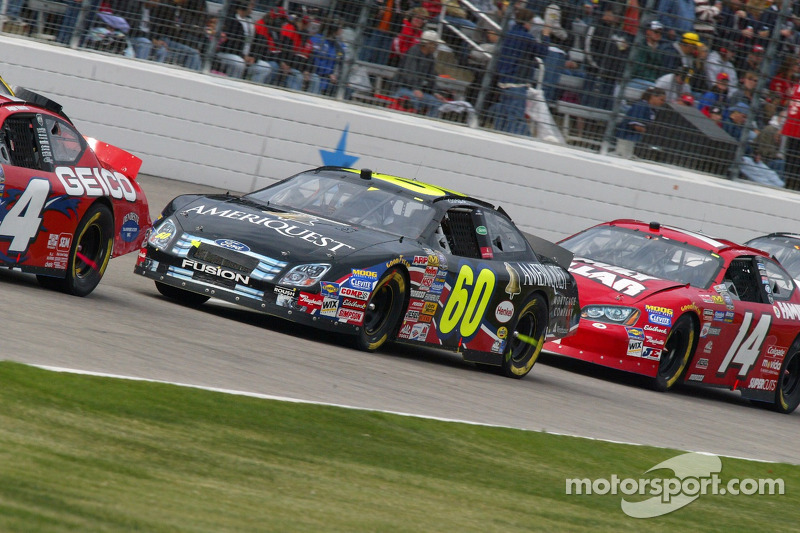 Carl Edwards et Ted Musgrave