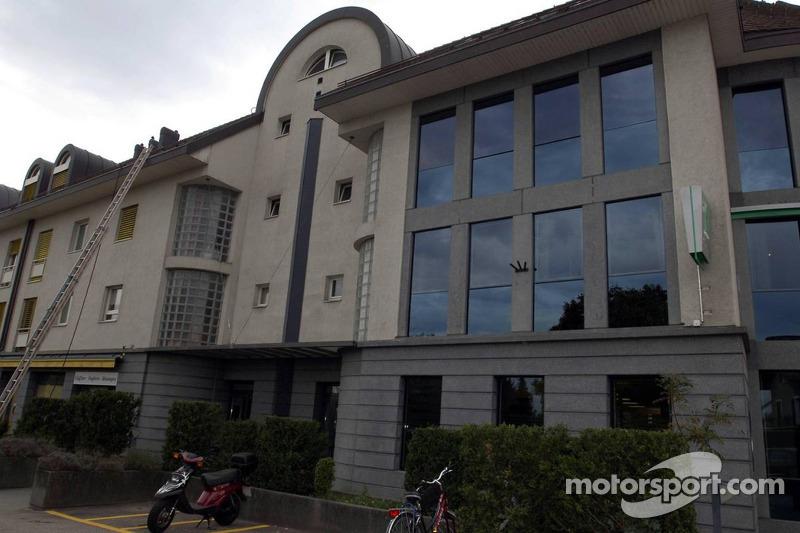 Nouvelle résidence de Michael Schumacher sur l'avenue Mont Blanc à Gland
