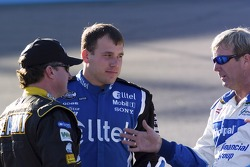 Ryan Newman, Sterling Marlin and Joe Nemechek