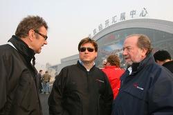 Rick Weidinger, Team USA, mit Tony Clements, Team Großbritannien