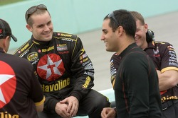 Casey Mears and Juan Pablo Montoya