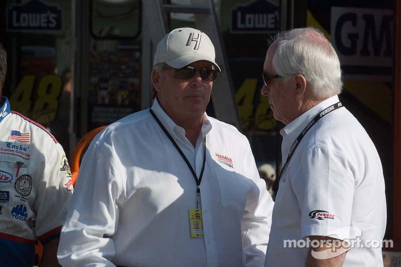 Rick Hendrick and Roger Penske