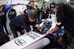 Alex Zanardi; Dr. Mario Theissen, BMW-Motorsportdirektor