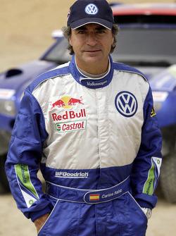 Volkswagen Motorsport presentation: Carlos Sainz