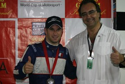 Press conference: Nicolas Lapierre with Jean Yves Roux