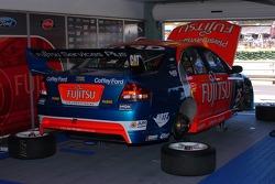 Inside the Fujitsu garaga