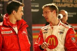 Sébastien Bourdais and Daniel Sordo