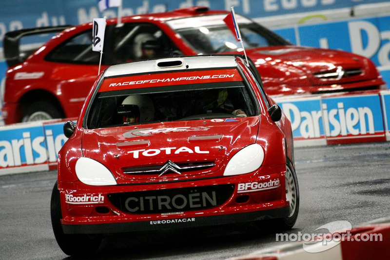 Semi final: Sébastien Loeb and Marcus Gronholm