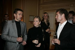 Gala night at Georges V hotel with Bernd Schneider and Tom Kristensen