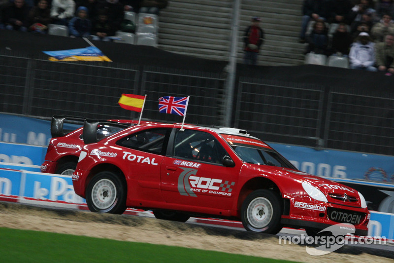 Semi final: Colin McRae and Daniel Sordo