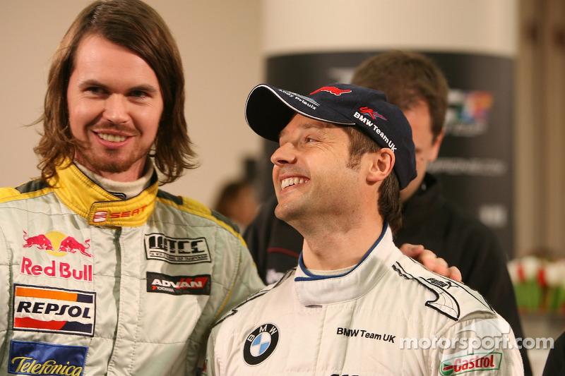 Jamie Thompson and Andy Priaulx