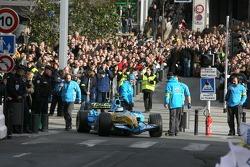 Heikki Kovalainen starts his demo run