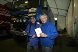 Arno Slaats and Dany Colebunders