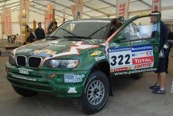 X-Raid BMW of Paulo Nobre and Filipe Palmeiro