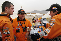 Jordi Arcarons, Jordi Viladoms and Marc Coma