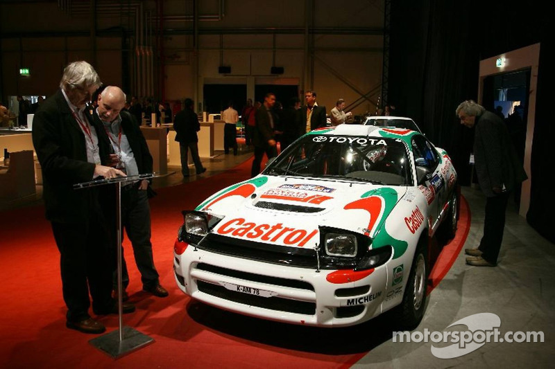 Toyota Race Cars >> Toyota Race Cars On Display Before The Launch At Toyota