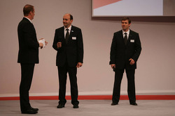 Luca Marmorini, Toyota Racing, Senior General Manager Engine and Pascal Vasselon, Toyota Racing, Senior General Manager Chassis