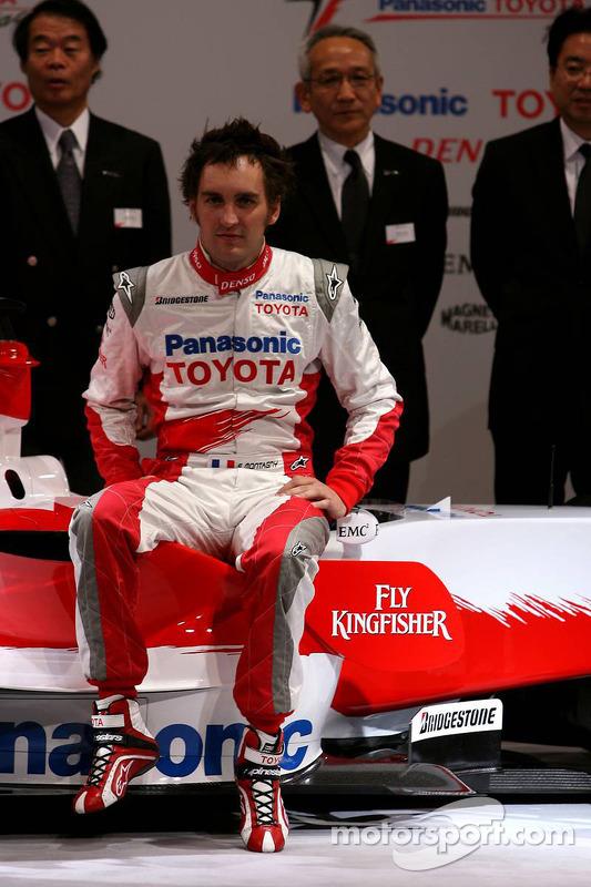 Franck Montagny, Toyota