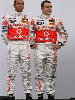 Lewis Hamilton and Fernando Alonso