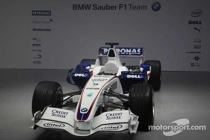 The BMW Sauber F1.07