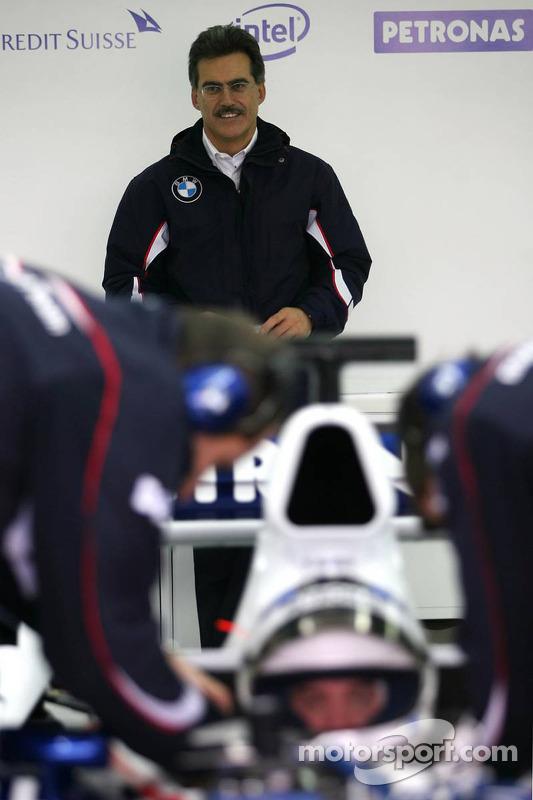 Dr. Mario Theissen, BMW Sauber