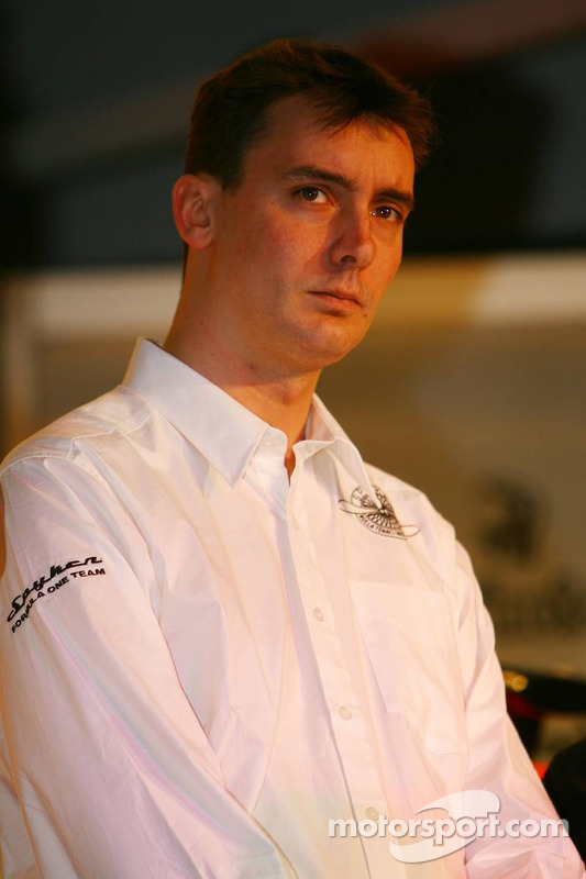 Technikdirektor James Key, Spyker-Ferrari