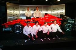 Adrian Valles; Fairuz Fauzy; Christijan Albers; Adrian Sutil; Giedo van der Garde; Marcus Winkelhock, Spyker-Ferrari