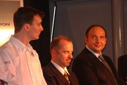 James Key, Spyker F1 Team, Technical Director, Mike Gascoyne, Spyker F1 Team, Chief Technology Officer, Colin Kolles, Spyker F1 Team, Team Principal
