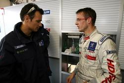 Stéphane Sarrazin and Sébastien Bourdais
