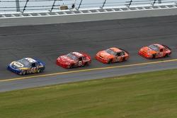 Michael Waltrip, Dale Earnhardt Jr., Tony Stewart, Jeff Burton