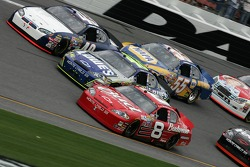 Dale Earnhardt Jr., Jimmie Johnson and Mike Bliss