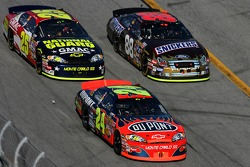 Jeff Gordon, Casey Mears and Ricky Rudd