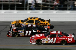 Matt Kenseth, Denny Hamlin and Reed Sorenson