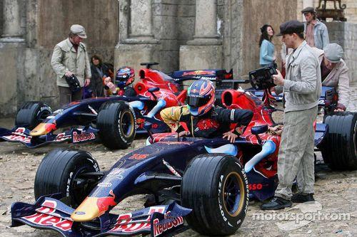 Red Bull Racing - Scuderia Toro Rosso movie, Sofia, Bulgaria