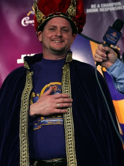 Crown Royal 'Your Name Here 400' contest: the happy winner
