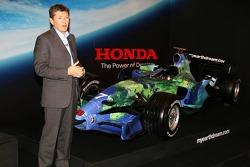 Honda F1 Racing RA107 and Nick Fry, Honda Racing F1 Team, Chief Executive Officer