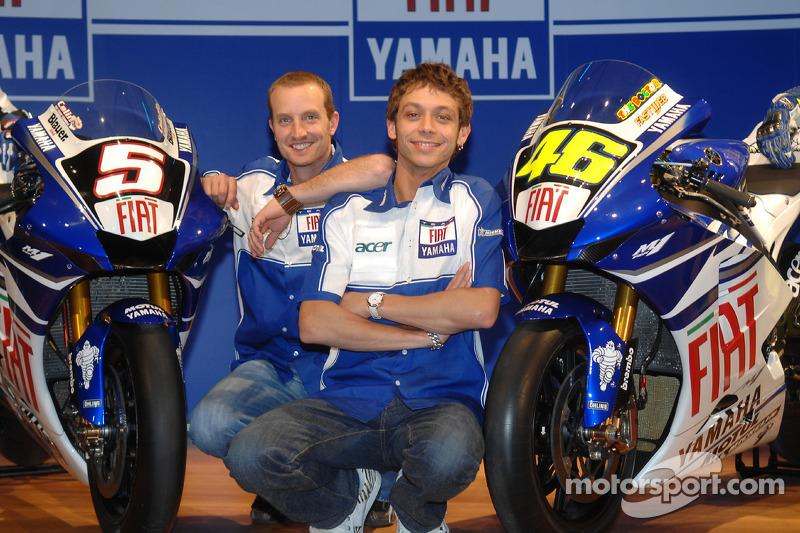 2007: De nuevo un nuevo patrocinador principal en Yamaha