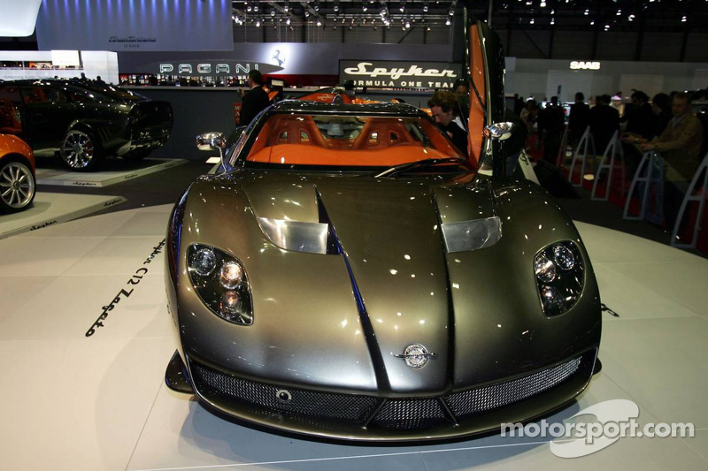 Spyker C12 Zagato At Geneva Motor Show Automotive Photos