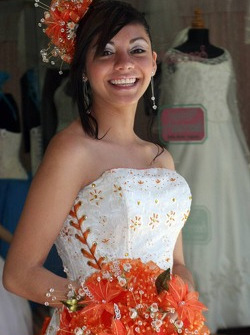 Jeune femme mexicaine