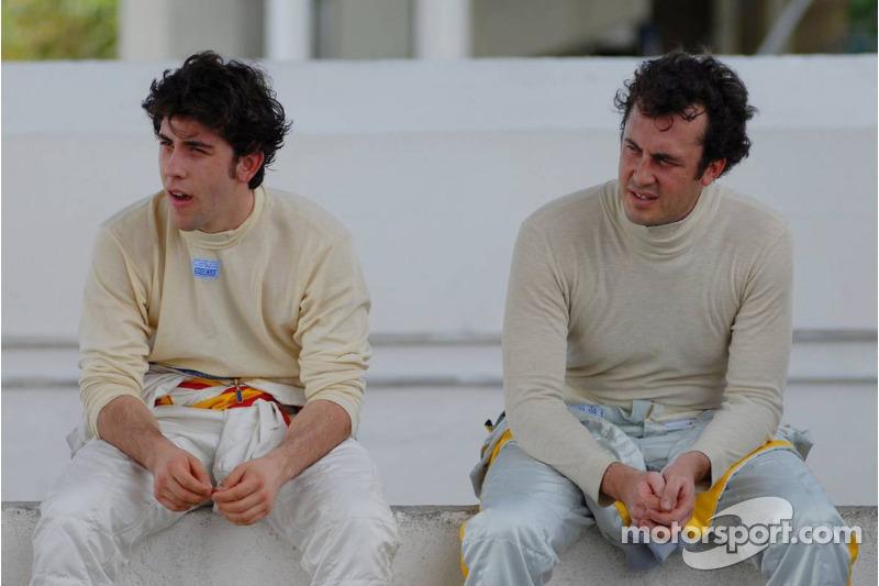 Felix Porteiro, BMW Team Italy-Spain, BMW 320si WTCC et Michel Jourdain, SEAT Sport, SEAT Leon