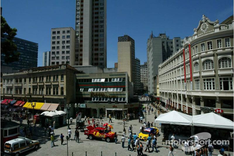 Centre ville de Curitiba