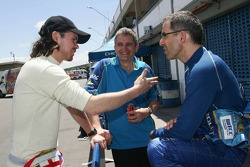 James Thompson, N Technology, Alfa Romeo 156 and Alain Menu, Team Chevrolet, Chevrolet Lacetti