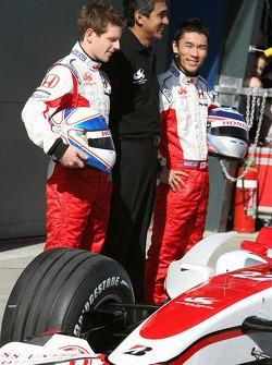 Anthony Davidson, Super Aguri F1 Team, Aguri Suzuki, Super Aguri F1 ve Takuma Sato, Super Aguri F1